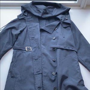 Morgane Le Fay extra long Rain coat